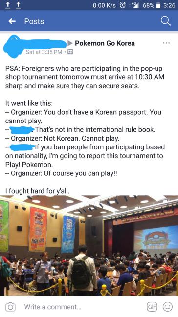 Pokemon Adventures: A Black Man in a Korean Tournament